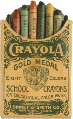 Crayon pack of 1903