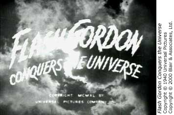 Flash Gordon title card
